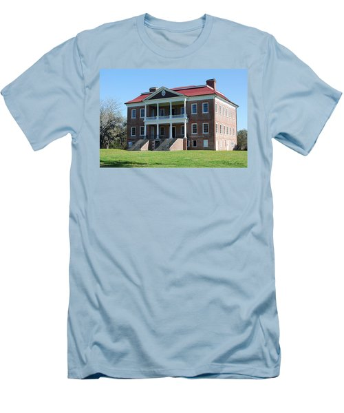 Drayton Hall Men's T-Shirt (Slim Fit) by Gordon Mooneyhan