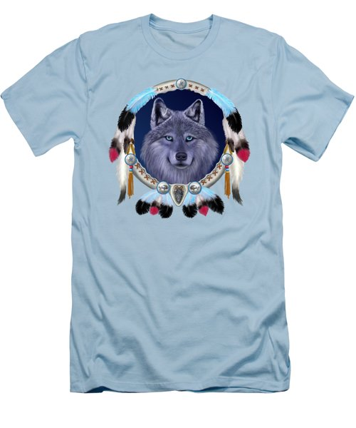 Dream Wolf Men's T-Shirt (Athletic Fit)
