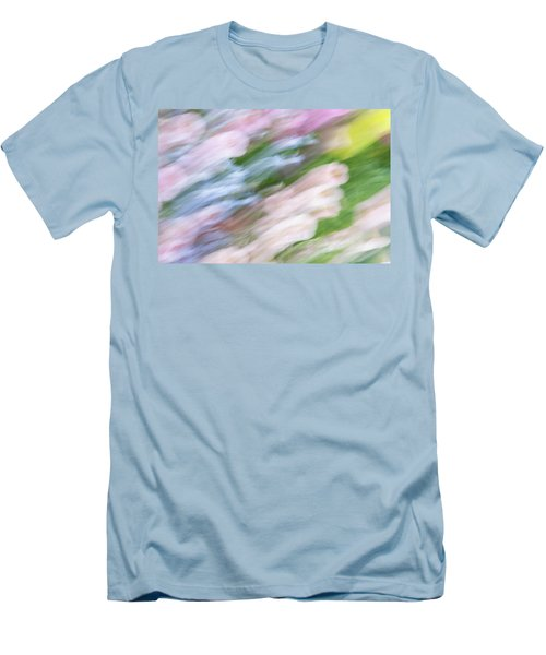Men's T-Shirt (Athletic Fit) featuring the photograph Dreaming Of Flowers 1 by Marilyn Hunt
