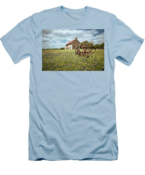 Men's T-Shirt (Slim Fit) featuring the photograph Dreams Of Long Ago by Linda Unger
