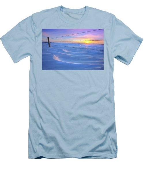 Men's T-Shirt (Slim Fit) featuring the photograph Drifting Away by Dan Jurak
