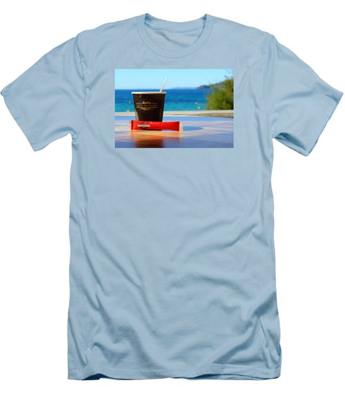Men's T-Shirt (Slim Fit) featuring the photograph Drink It In by Richard Patmore