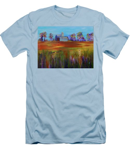 Drive-by View Men's T-Shirt (Slim Fit) by Terri Einer