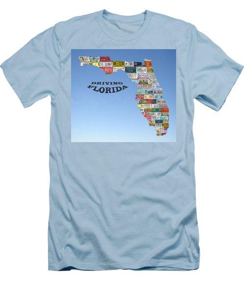 Driving Florida Men's T-Shirt (Slim Fit)