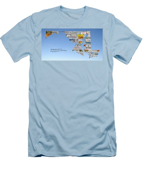 Driving Maryland Men's T-Shirt (Athletic Fit)