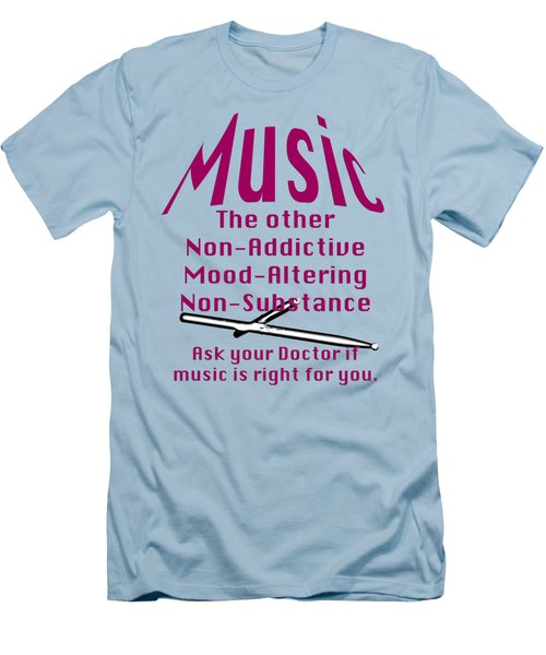 Drum Or Percussion Music Is Right For You 5493.02 Men's T-Shirt (Slim Fit) by M K  Miller