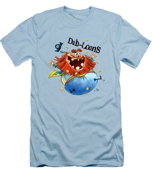Dub-loons Men's T-Shirt (Slim Fit) by Andy Catling