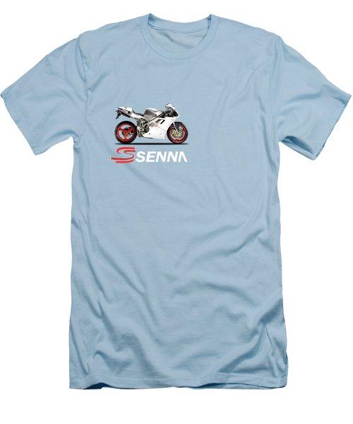 Ducati 916 Senna Men's T-Shirt (Slim Fit) by Mark Rogan