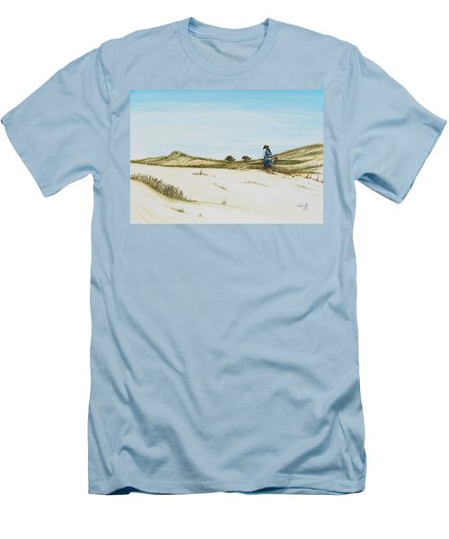 Dune Walker Province Lands Men's T-Shirt (Athletic Fit)