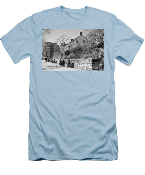 Dyckman Farmhouse  Men's T-Shirt (Slim Fit) by Cole Thompson