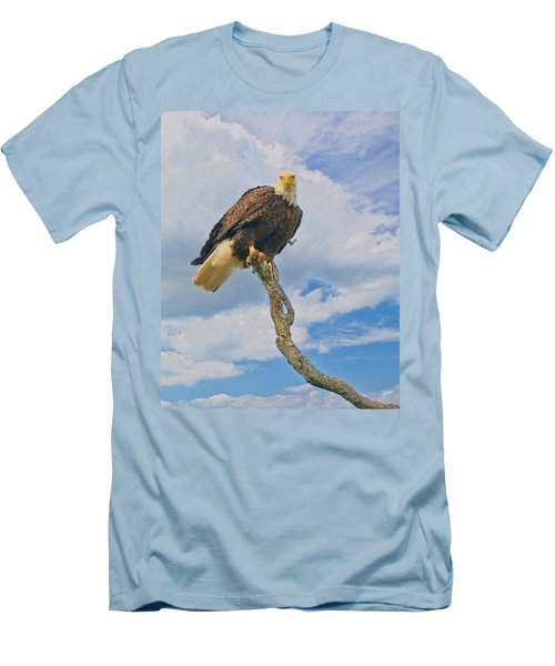 Eagle Eyes Men's T-Shirt (Athletic Fit)