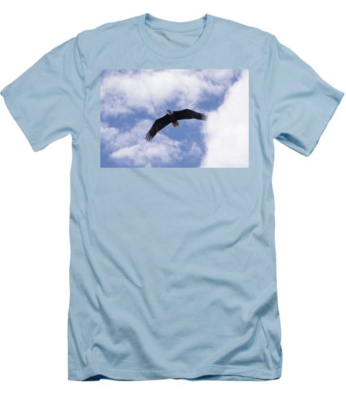 Eagle Flight Men's T-Shirt (Athletic Fit)