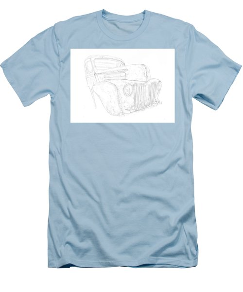 Early Ford Truck Men's T-Shirt (Slim Fit) by Jeffrey Jensen