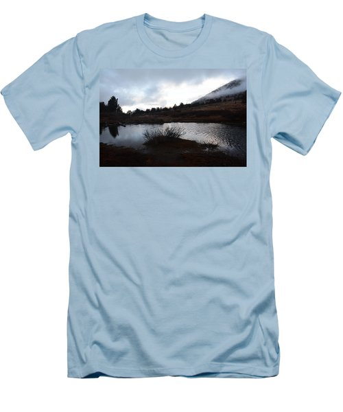 Early Morning At Favre Lake Men's T-Shirt (Slim Fit) by Jenessa Rahn