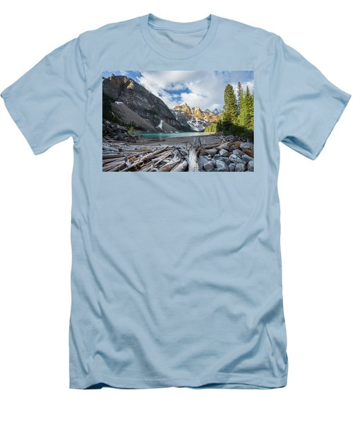 Early Morning At Moraine Lake Men's T-Shirt (Athletic Fit)