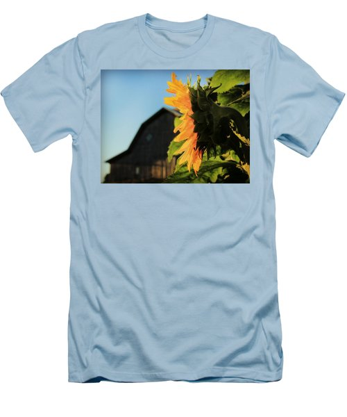 Men's T-Shirt (Slim Fit) featuring the photograph Early One Morning by Chris Berry