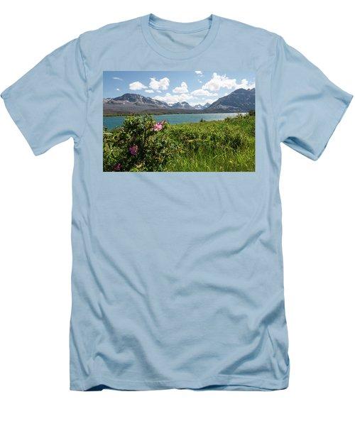 East Glacier National Park Men's T-Shirt (Athletic Fit)
