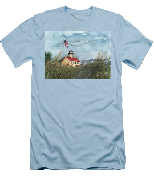 East Point Lighthouse Men's T-Shirt (Athletic Fit)