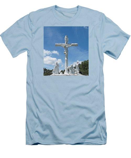 Easter One Men's T-Shirt (Slim Fit) by Barbara McDevitt