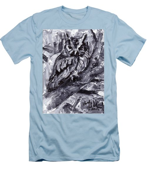Eastern Screech-owl Men's T-Shirt (Athletic Fit)