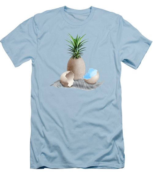 Eggs On A Feather Men's T-Shirt (Slim Fit) by Absentis Designs