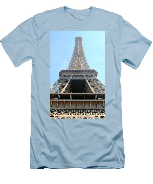 Eiffil Tower Paris France  Men's T-Shirt (Athletic Fit)