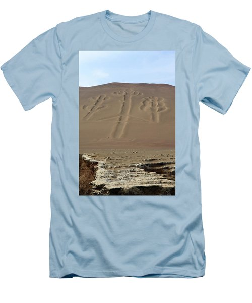 Men's T-Shirt (Slim Fit) featuring the photograph El Candelabro by Aidan Moran