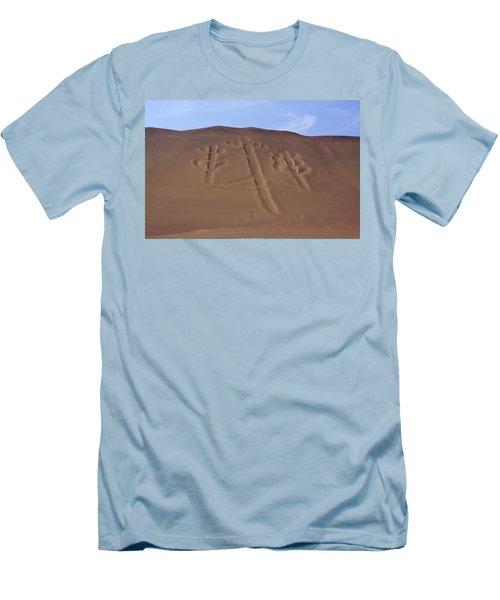 El Candelabro Peru Men's T-Shirt (Slim Fit) by Aidan Moran