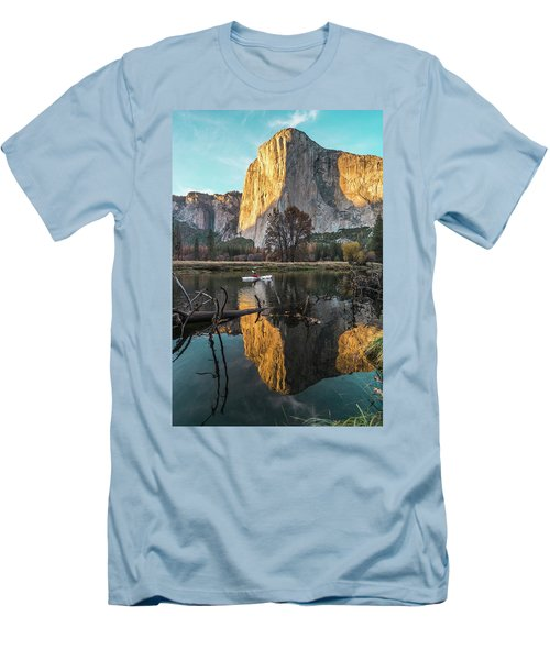 El Capitan Sunset Men's T-Shirt (Athletic Fit)