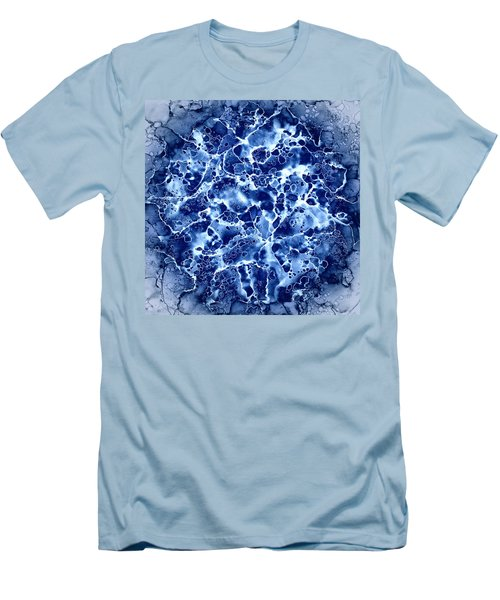 Abstract 1 Men's T-Shirt (Slim Fit) by Patricia Lintner