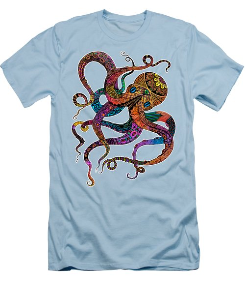 Electric Octopus Men's T-Shirt (Athletic Fit)