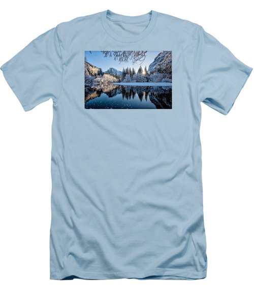 Granite Sunrise Men's T-Shirt (Athletic Fit)