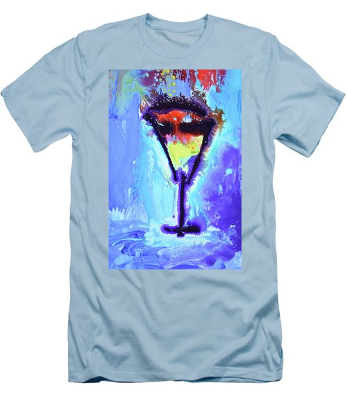Elixir Of Life Men's T-Shirt (Slim Fit) by Amara Dacer