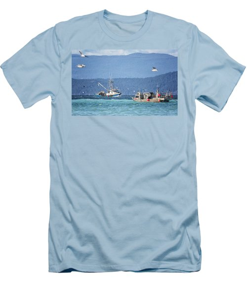 Men's T-Shirt (Slim Fit) featuring the photograph Elora Jane by Randy Hall