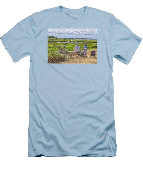 En Plein Air  Cape Cod Men's T-Shirt (Athletic Fit)