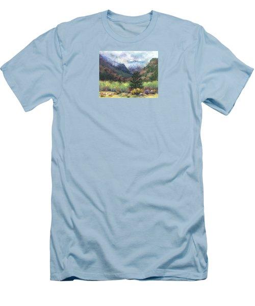 Encroaching Clouds Men's T-Shirt (Slim Fit) by Jill Musser