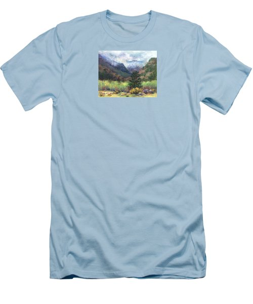 Encroaching Clouds Men's T-Shirt (Slim Fit)