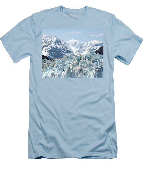 Glaciers End Of A Journey Men's T-Shirt (Athletic Fit)