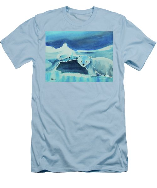Endangered Bears Men's T-Shirt (Athletic Fit)