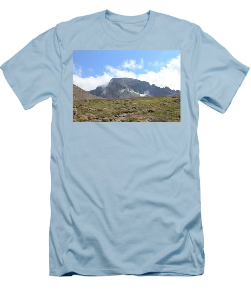 Men's T-Shirt (Slim Fit) featuring the photograph Entering The Boulder Field by Christin Brodie