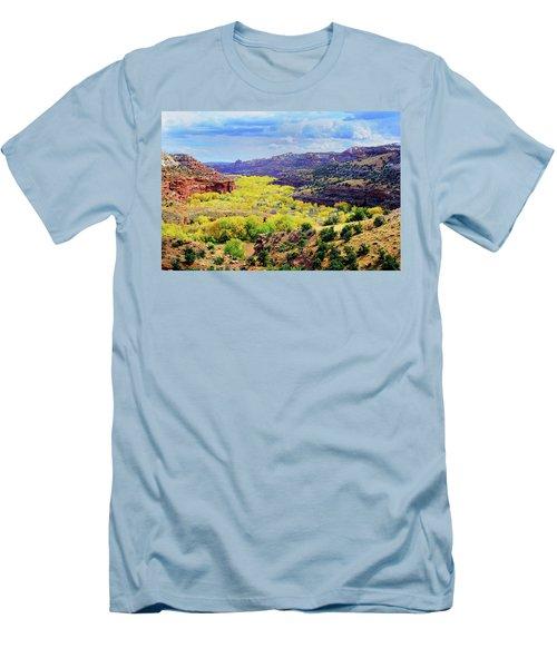 Escalante Canyon Men's T-Shirt (Athletic Fit)
