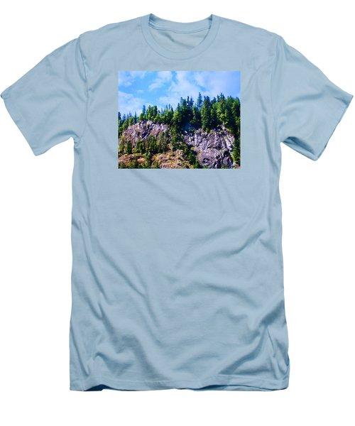 Escarpment 2 Men's T-Shirt (Slim Fit) by Timothy Bulone