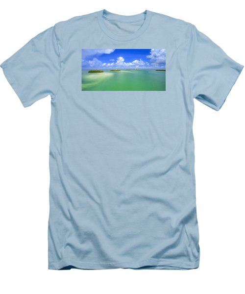Estero Bay Men's T-Shirt (Slim Fit) by Sean Allen