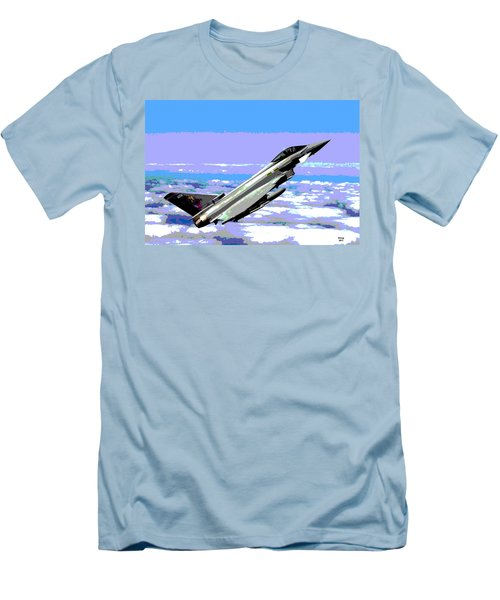 Eurofighter Typhoon Men's T-Shirt (Slim Fit) by Charles Shoup
