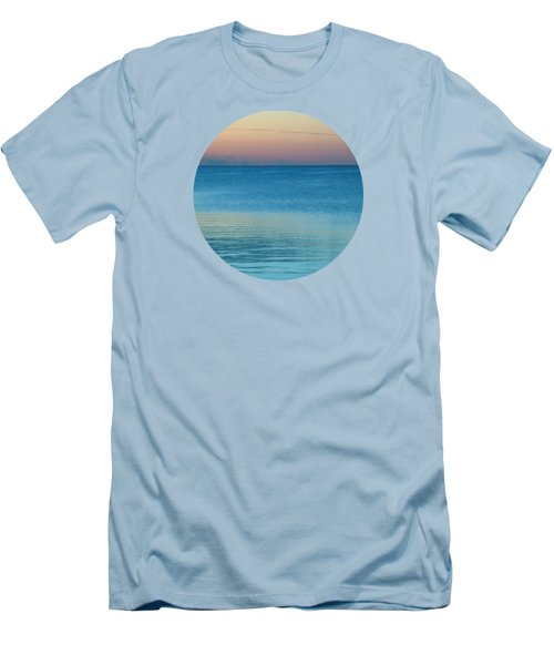 Evening At The Lake Men's T-Shirt (Slim Fit) by Mary Wolf