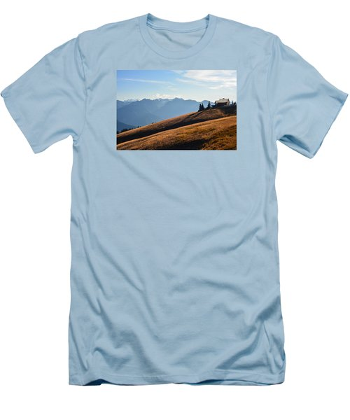 Men's T-Shirt (Slim Fit) featuring the photograph Evening Light by Ronda Broatch