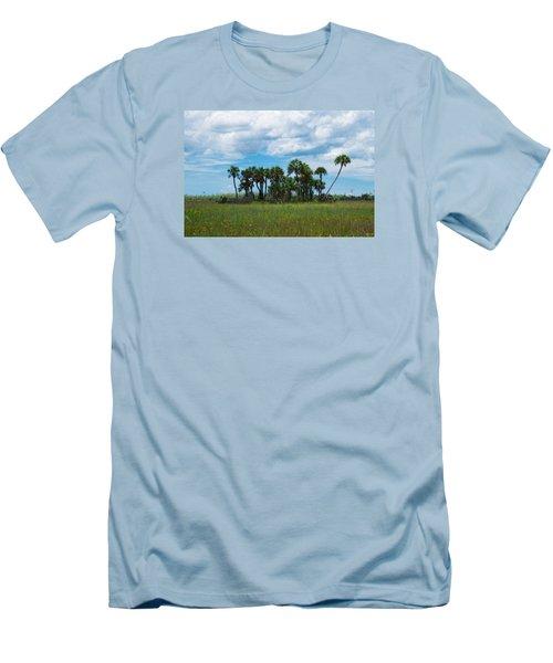 Everglades Landscape Men's T-Shirt (Slim Fit) by Christopher L Thomley