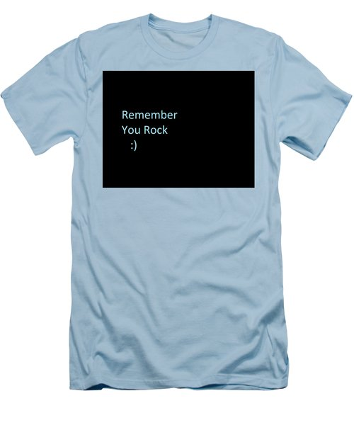 Men's T-Shirt (Athletic Fit) featuring the photograph Everyday Remember This by Aaron Martens