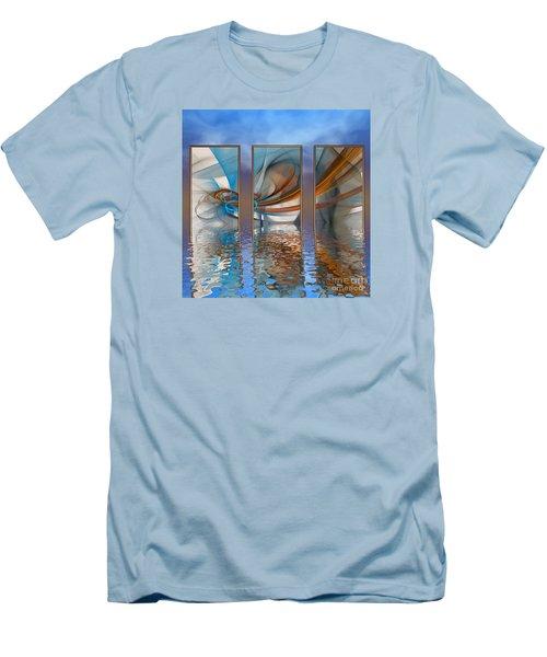 Exhibition Under The Sky Men's T-Shirt (Athletic Fit)