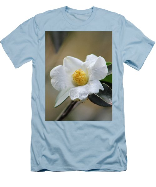 Men's T-Shirt (Slim Fit) featuring the photograph Exposed by Deborah  Crew-Johnson